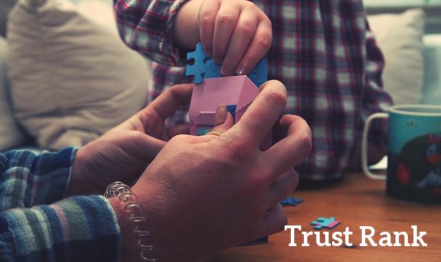 Trust Rank - statystyki z lipca 2014