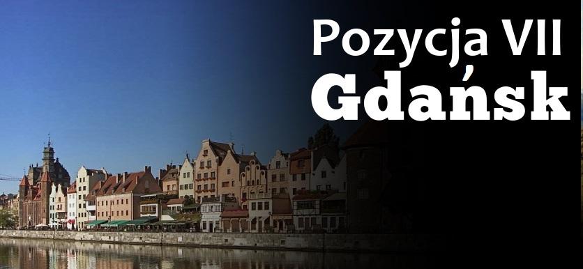 Pozycja 7 - Gdańsk