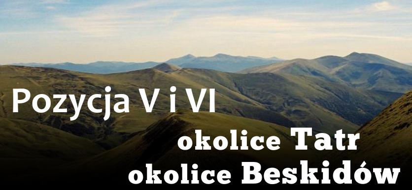 Pozycja 5 - okolice Tatr i okolice Beskidów