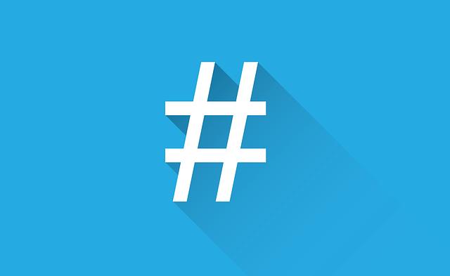 social-media-hash tags